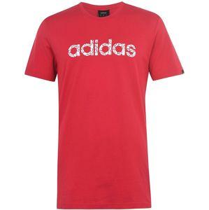 Pánske voĺnočasové tričko Adidas vel. M