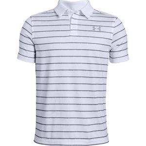 Chlapčenské tričko s golierikom Under Armour Tour Tips Stripe Polo vel. S
