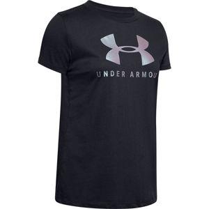 Dámske tričko Under Armour GRAPHIC SPORTSTYLE CLASSIC CREW vel. S