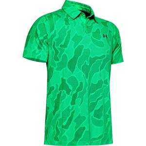 Pánske tričko s golierikom Under Armour Vanish Jacquard Polo vel. S