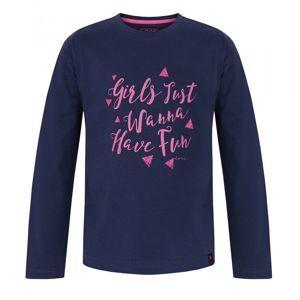 Dievčenské tričko s dlhými rukávmi vel. 5 - 6 rokov, 112 - 116 cm