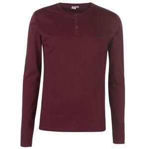 Pánske módne tričko s dlhým rukávom Lee Cooper vel. XL