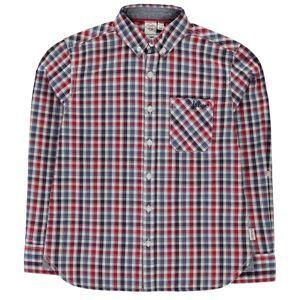 Chlapčenská štýlová košeĺa Lee Cooper vel. 9 - 10 rokov, 134 - 140 cm