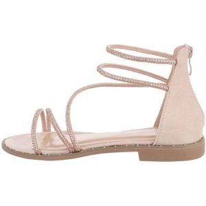 Dámske trblietavé sandále vel. 36