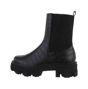 Dámske štýlové topánky Chelsea vel. 41
