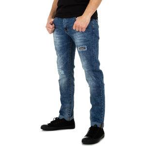 Pánske džínsy modré vel. W39