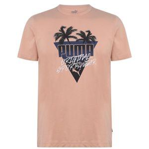 Pánske bavlnené tričko Puma vel. L