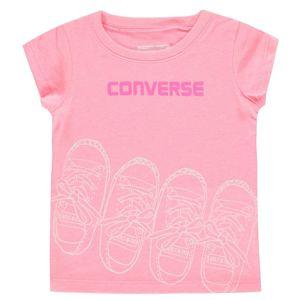 Dievčenské štýlové tričko Converse vel. 18M