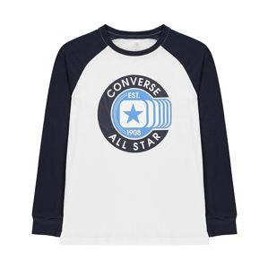 Detské bavlnené tričko Converse vel. 8-9 Yrs