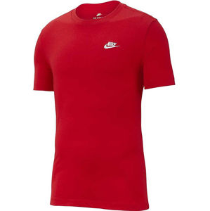Pánske červené tričko Nike vel. M