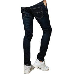 Tmavomodré pánske džínsové nohavice vel. 38