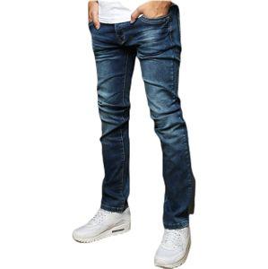Pánske tmavo modré džínsy vel. 29