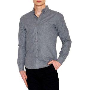 Pánska šedá košeľa vel. 2XL