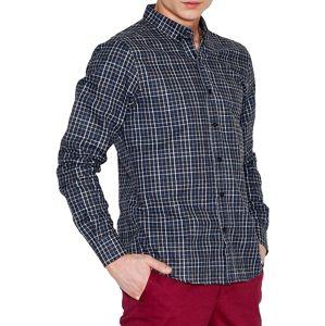 šedá mriežkovaná košele v010 grey check vel. 2XL