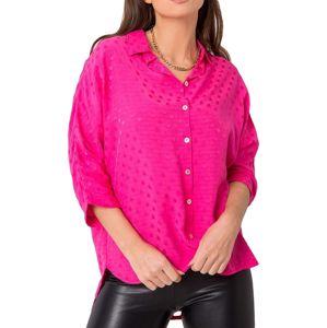 Ružová dámska košeľa vel. M
