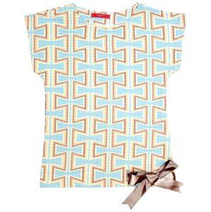 Chýba predná celkovej foto / dievčenské tričko so vzorom vel. 128