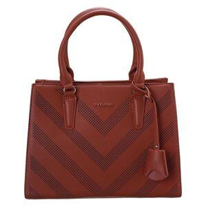 David jones červená shopper kabelka 6281-2 brick red vel. ONE SIZE