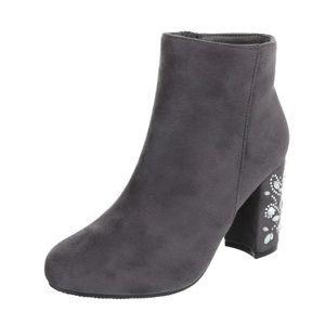 Dámske štýlové topánky na podpätku vel. EUR 40, UK 7,5