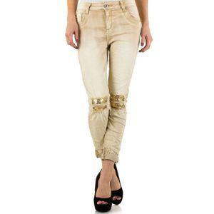 Dámske štýlové jeansy Mozzaar vel. L