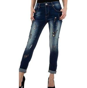 Dámske moderné jeansy Mozzaar vel. XL/42