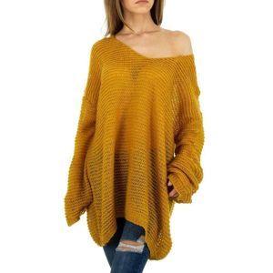 Dámsky dlhý pulóver
