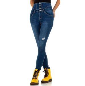 Dámske jeansové nohavice vel. XL/42