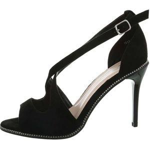 Dámske módne sandále na podpätku vel. 37