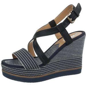 Dámske pohodlné sandále na kline vel. 38