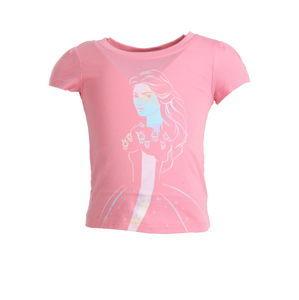 Dievčenské ružové Disney tričko Reebok vel. 5 - 6 rokov, 116 cm