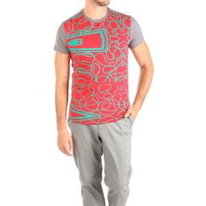 Pánske sivé tričko Desigual vel. M